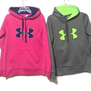 2PCS UNDER ARMOUR HOODIE.      38